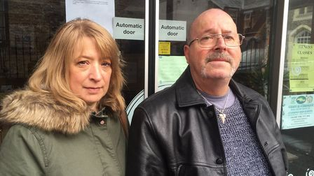 Angie and Ken Wright have both lost their jobs with the sudden collapse of Great Yarmouth Community
