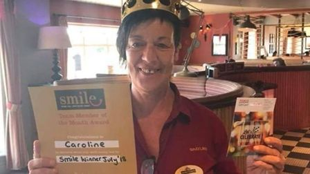 Caroline O'Brien who was a waitress at The Grayling in Great Yarmouth. Picture: Joseph Norton