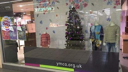 YMCA has opened a new charity shop in Market Gates Picture: Liz Coates