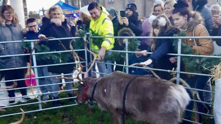 Christmas on the Mag attracted hundreds of peoplePicture: Rev Matthew Price
