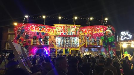 Crowds turned out for Great Yarmouth's switch-on but overall the festive trading period has been des