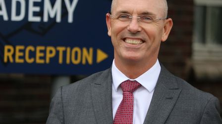 Barry Smith, principal at Great Yarmouth Charter Academy, run by the Inspiration Trust. Picture: Ang