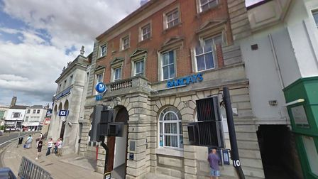 Barclays in Hall Quay closed at the same time as the Trafalgar Road branch and all services moved to