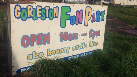 The future of Pop's Meadow, a former kids' fun park in Gorleston, is up for discussion next week at