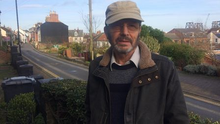 Nick Wilson, 70, lives on Cliff Hill in Gorleston and would like to see Pop's Meadow remain as a gre