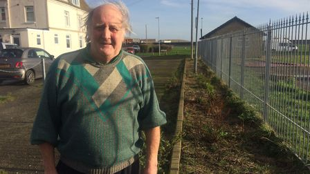 Brian Jackson, 76, has lived next to Pop's Meadow since 1976. He would like to see the site be used