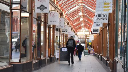 Victoria Arcade, Yarmouth.Picture: Nick Butcher