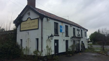 The First and Last pub is for sale again. Pic: Archant