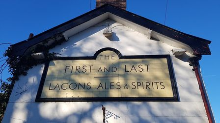 The First and Last pub, is for sale again. Pic: Archant