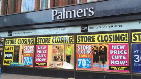 After more than 180 years Palmers in Great Yarmouth will shut 'mid-March' administrators say Picture