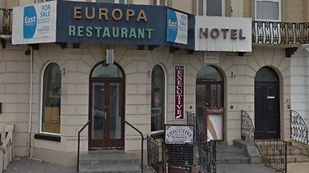 The former Europa hotel and restaurant on Marine Parade in Great Yarmouth. Picture: Google Maps.