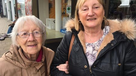Mother and daughter Nona Green, 95, and Teresa Durrant, 65, say they will miss Palmers after it shut