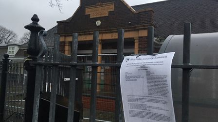 The site has been fenced off and demolition work is due to begin next week at the vacant Alderman Sw