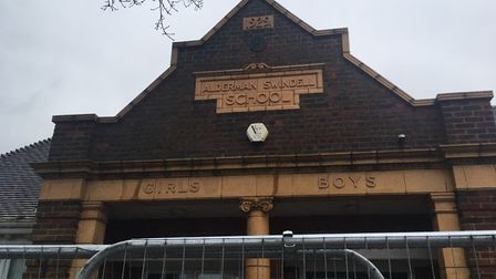 Original parts of the former Alderman Swindell Primary School will be saved from demolition as a ne