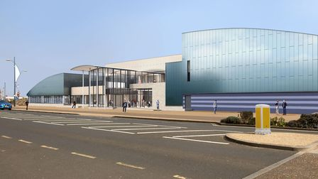 A video has been released giving people the chance to walk through the new leisure centre being tipp