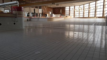 The tropical leisure pool at Great Yarmouth's now closed Marina Centre has been drained ahead of dem