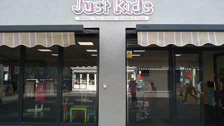 Just Kids, a new shop selling children's clothes and toys, has opened on Regent Road in Great Yarmou