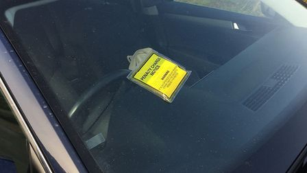 Parking is still being enforced during the coronavirus lockdown, but the number of notices issued ha