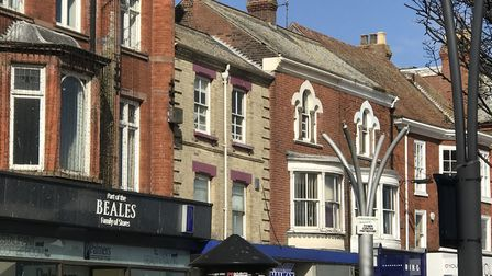 The top of Palmers' building - devoid of gulls for probably the first time ever. Photo: Archant