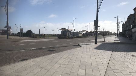Great Yarmouth's Golden Mile - again, without any gulls. Photo: Archant