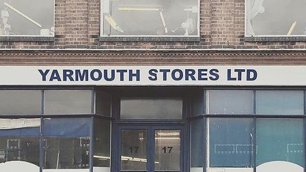 Yarmouth Stores in Southgates Road. Production at its factory has stopped due to the coronavirus pan