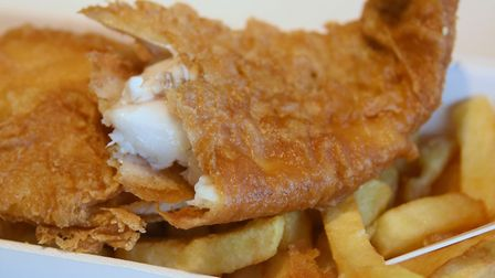 Fish and chips. Picture: DENISE BRADLEY