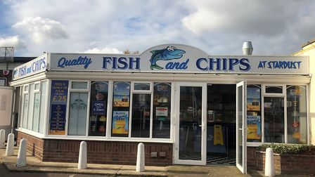 The owner of Stardust fish and chips in Hopton is worried about the impact of A47 roadworks on his b