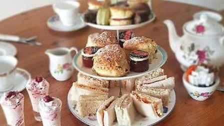 An afternoon tea from Binky's can be delivered to your door or for a friend or relative celebrating