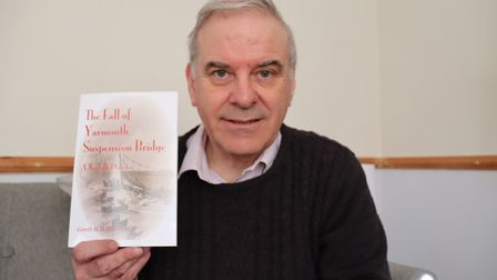 Gareth Davies, author of The Fall of the Great Yarmouth Suspension Bridge and narrator on upcoming g