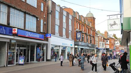 Great Yarmouth's town centre. Picture: James Bass