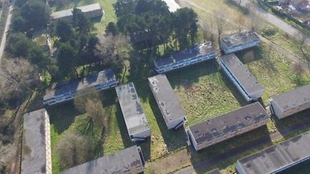 Aerial pics of the Pontins site in Hemsby. Photo: Simon Carter