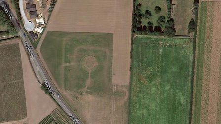 The former PYO fields in Scratby are being considered for up to 70 homes by Badger Building Picture