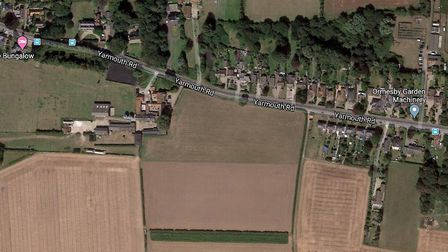 Badger Building is gauging public opinion on a housing scheme for up to 70 homes on Yarmouth Road in
