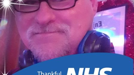 Lifeboatman and hospital cleaner Ian Papworth has scored a hit with his Facebook DJ sets which are h