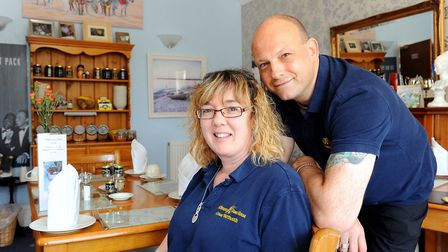 Gary and Julie Smith run one of the top-rated B&Bs for Norfolk, Kilbrannan Guest House, Trafalgar Ro