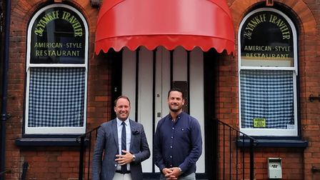 Yankee Traveller owners Oliver Hurren and Charles Thurston. The popular restaurant is in good shape