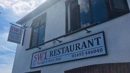 SW1 Restaurant in Gorleston has only been up and running for three years. The owner, Simon Wainwrigh