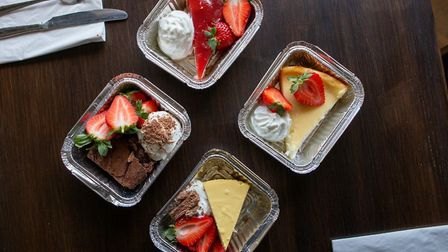 Get Baked is delivering Norfolk-named milkshakes, desserts, burgers and sides from its two locations