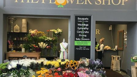 The Flower Shop in Great Yarmouth's Market Gates brings colour to the town but may miss out on finan