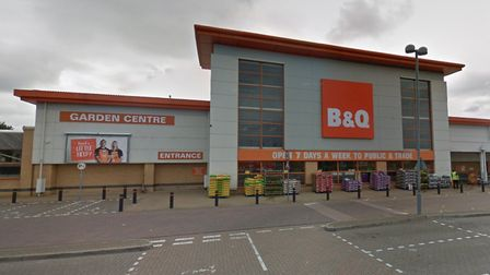B&Q at the Pasteur Road retail park in Great Yarmouth is among the latest stores to reopen Picture: