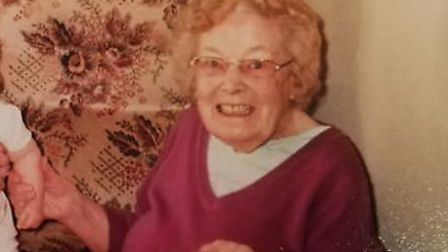 The family of a great-grandmother who passed away in care with suspected coronavirus, days before tu