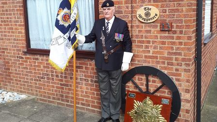 Lt Col (Retd) Terry Byrne, 72, will parade Winterton on Friday (May 8) to remind people to take part