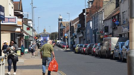 Your Town - Gorleston. The busy Gorleston High Street. Picture: DENISE BRADLEY