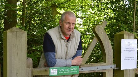 Simon Partridge, director of How Hill, a nature reserve in the Norfolk Broads which has reopened its