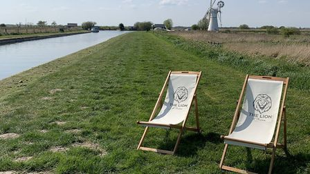 The riverbank at Thurne is being billed as the perfect place for a takeaway picnic meal from the Lio