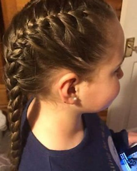 Summer will cut ten inches off her hair for the Little Princess Trust and donate the proceeds toward