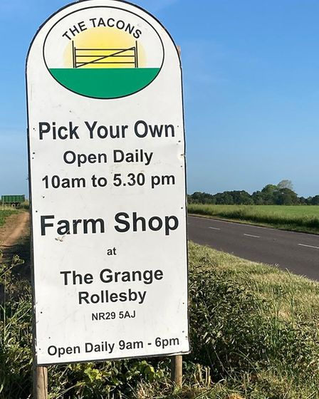The Tacons PYO and farm shop is reporting a surge of interest during the coronavirus pandemic with s