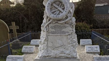 The Beauchamp lifeboat memorial has been listed by Historic England Picture: Caister Lifeboat