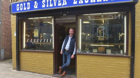 Gold & Silver Exchange Great Yarmouth Adam Birch owner is looking forward to trading again now lock