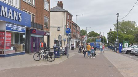 Great Yarmouth town centre.Market place, shops reopening as lock down is lifted. Pictures: BRITTANY